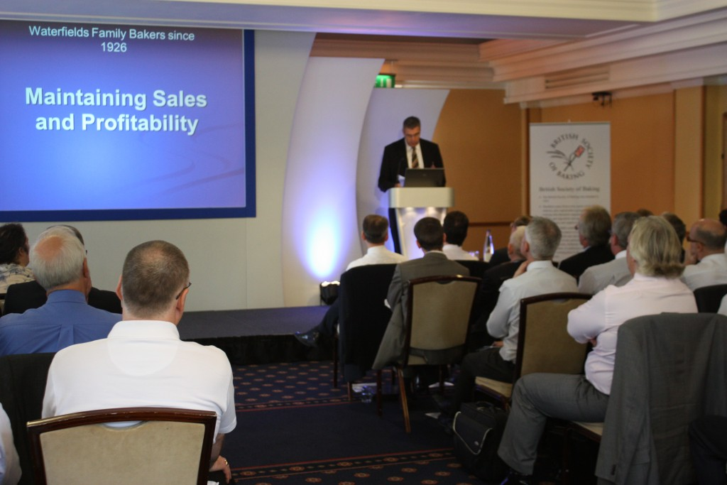 John Waterfield, Waterfields of Leigh speaking at the 2011 BSB autumn conference